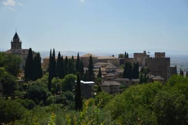 La Alhambra desde el Generalife
