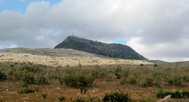 Picacho de la Sierra de Cabra, centro de Andalucia