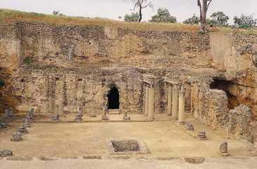 Necrópolis romana, Carmona