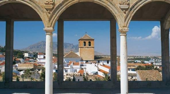 Desde la Alcazaba de Baza