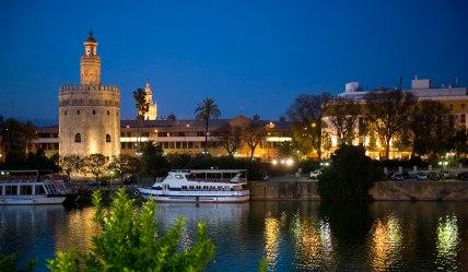 Torre del Oro y Guadalquivir, Sevilla