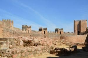 Castillo de Burgalimar, Baños de la Encina