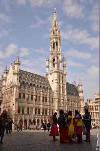 Hôtel de Ville en la Grand Place de Bruselas