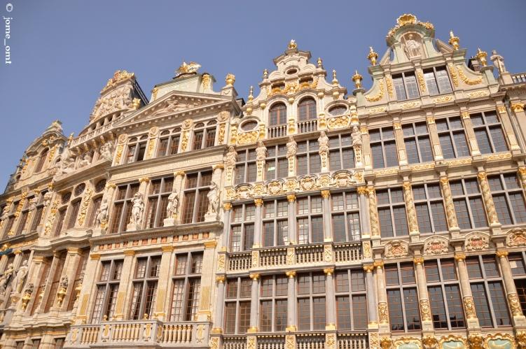 Casas gremiales de la Grand Place de Bruselas